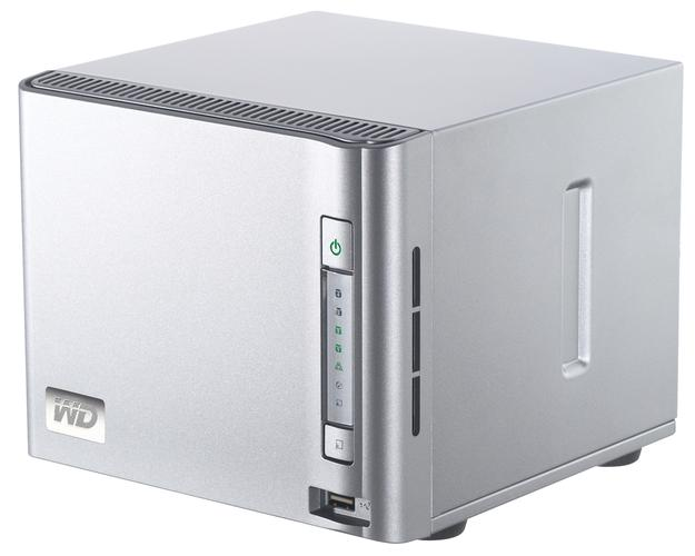 Western Digital's ShareSpace drive bay system