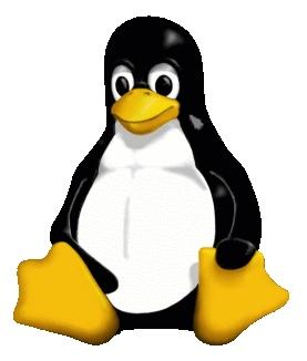 Tux the penguin is used as the Linux mascot
