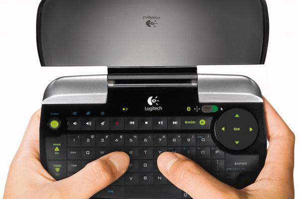 The Logitech diNovo Mini is a great go-anywhere keyboard, but where it really shines is in the living room, controlling your Media Center PC.