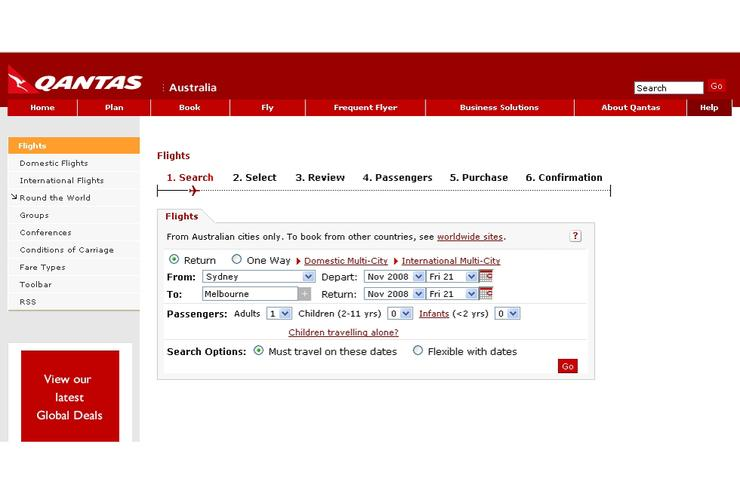 Confidential customer details exposed on Qantas site - PC