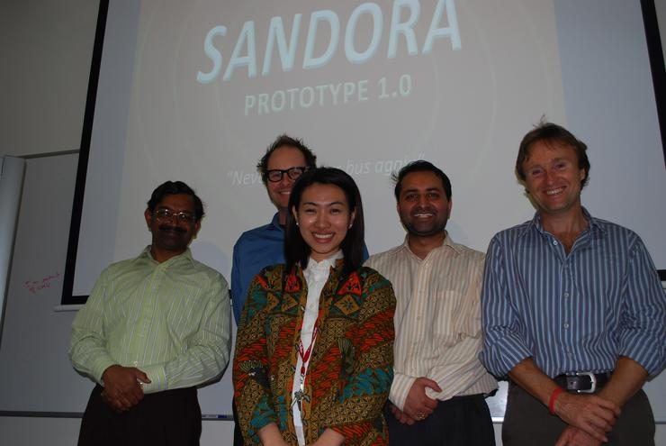 Carnegie Mellon University's Sandora students.