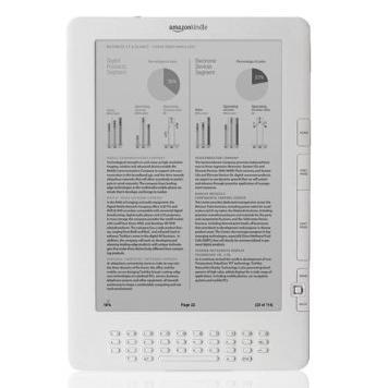 Amazon's new 9.7-inch Kindle DX