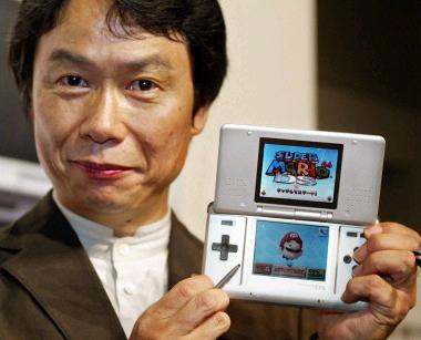 """I really think that you do need something [to hold]"" -- Shigeru Miyamoto."