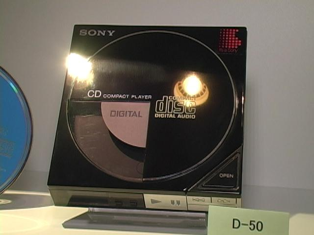 Sony's D-50 Walkman