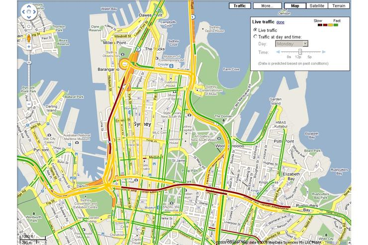 Google Maps now displays local traffic - Good Gear Guide