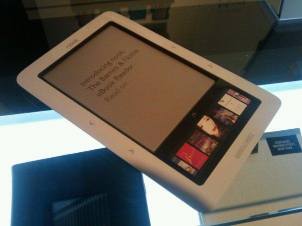 The Barnes & Noble Nook is claimed to be the first ebook reader based on the Android platform