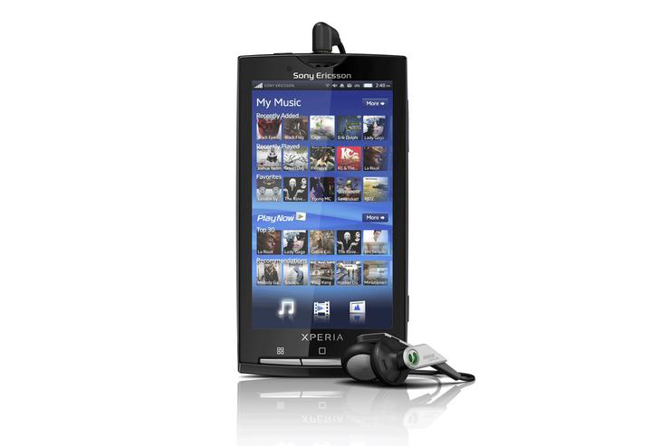 Sony Ericsson's first Android-based smartphone, the Xperia X10, comes with its own user inferface, a 4-inch display and has a 1GHz Snapdragon processor under the hood.