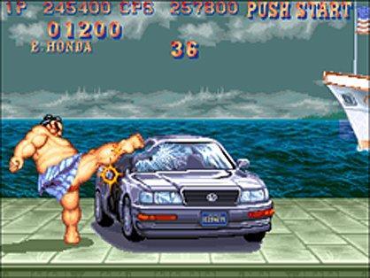 Car Destroying Stage Confirmed For Super Street Fighter Iv Pc
