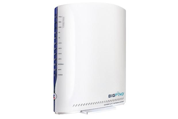 Telstra's BigPond Elite Network Gateway is the fastest device of its kind in Australia.