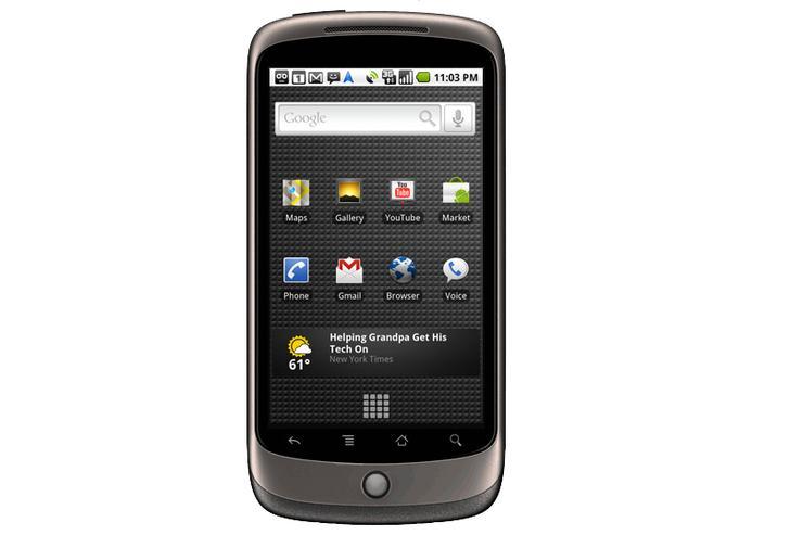 Google's Nexus One phone