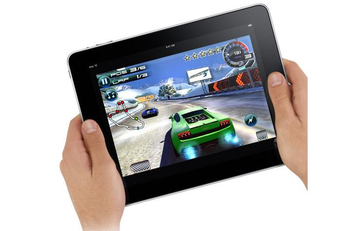 With its large screen, army of apps and built-in accelerometer, the Apple iPad is being touted for its gaming capabilities.