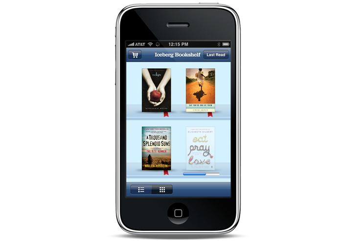 ScrollMotion's Iceberg e-reader for the iPhone