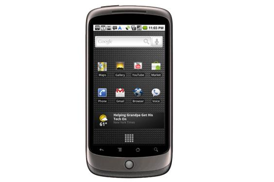 Google's Android-powered Nexus One phone