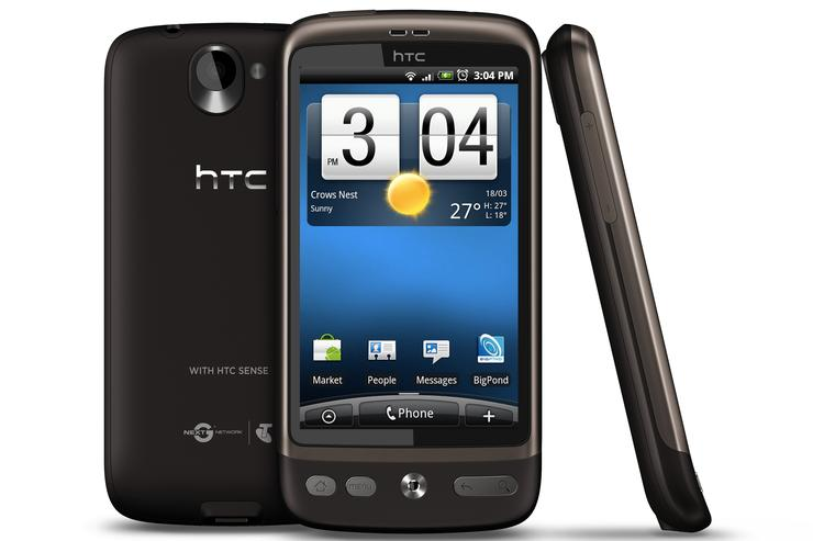 HTC's Desire smartphone will be available on Telstra from 27 April.