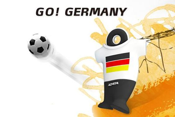 Celebrate a month of World Cup soccer with a flash drive