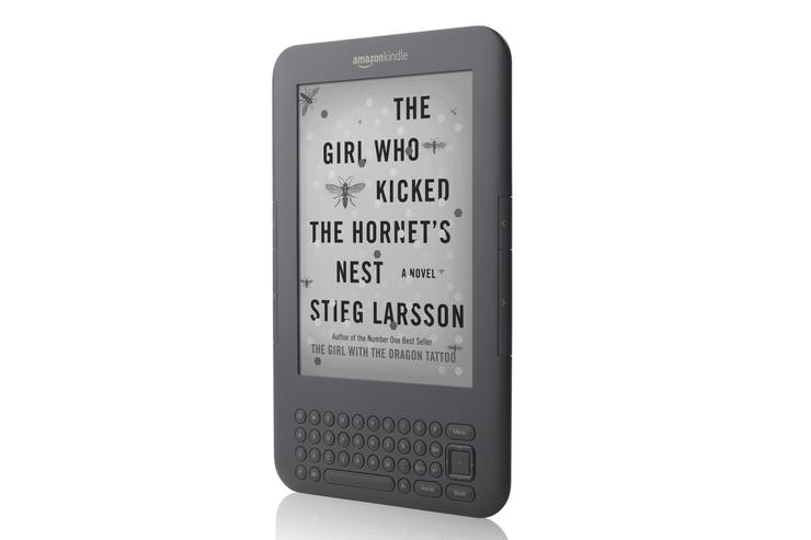 Amazon's new Kindle (Wi-Fi/3G, 3rd Generation)
