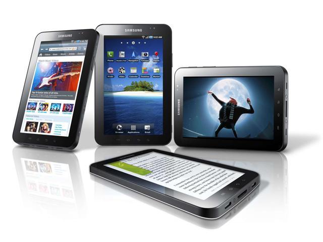 Samsung's Galaxy Tab device