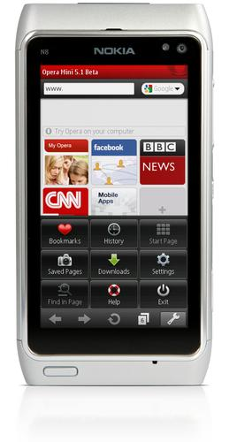 Opera Mini 5.1 for Symbian