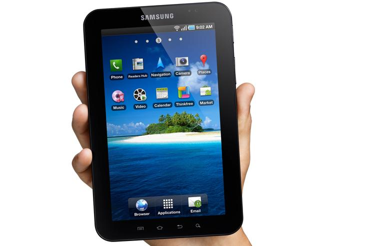 Samsung's first Galaxy Tab