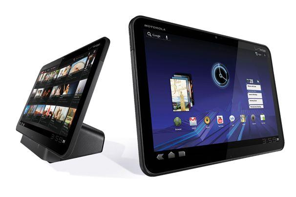 The Motorola Xoom Android tablet