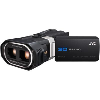 JVC Everio GS-TD1 3D camcorder.