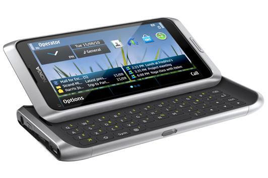 Nokia's E7 smartphone