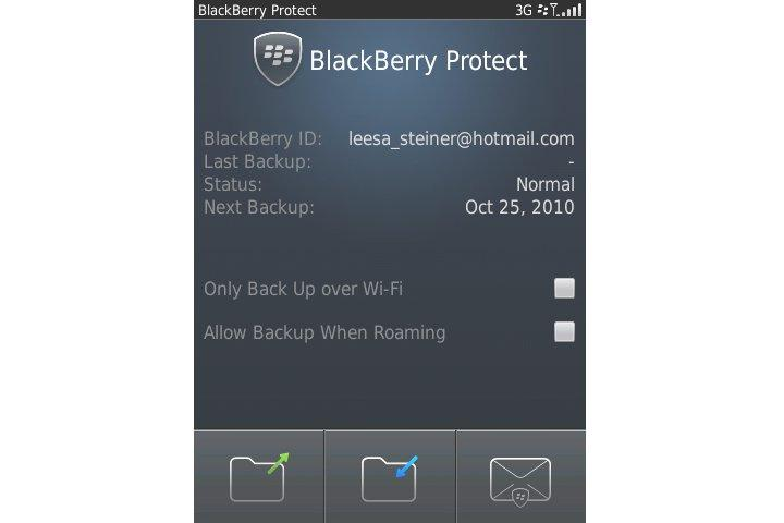 BlackBerry Protect is a free download from BlackBerry App World
