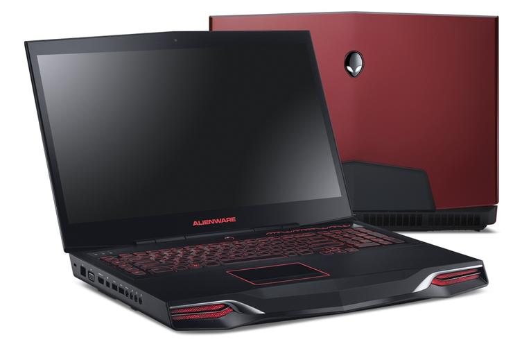 The all-new Alienware M18x is an 18in desktop replacement that can be configured with SLI or Crossfire graphics.
