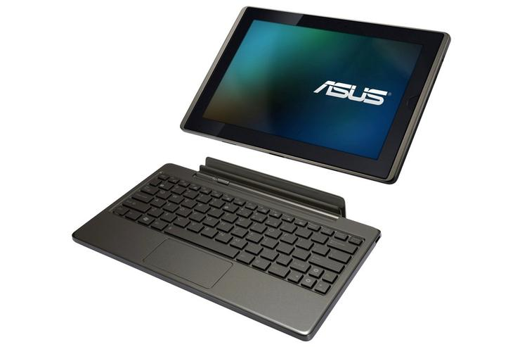The ASUS Eee Pad Transformer Android tablet