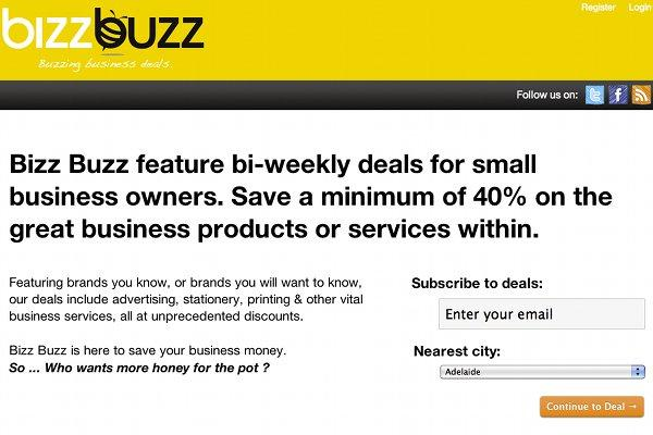 The Bizz Buzz Web site.