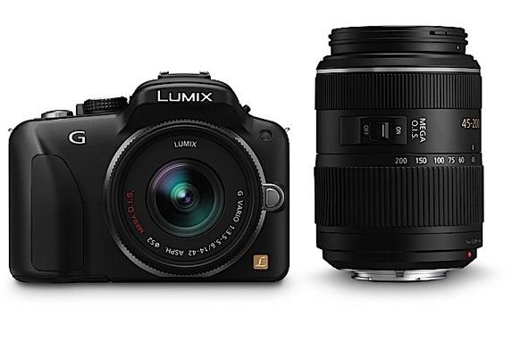 The Panasonic LUMIX DMC-G3 twin lens kit.