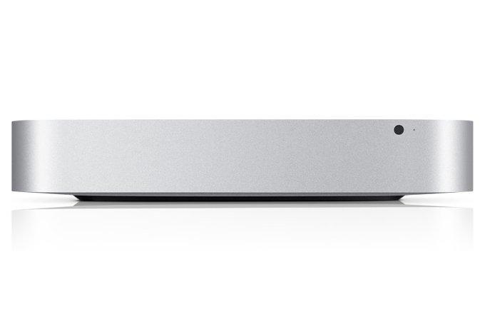 The new Apple Mac Mini, sans optical drive.