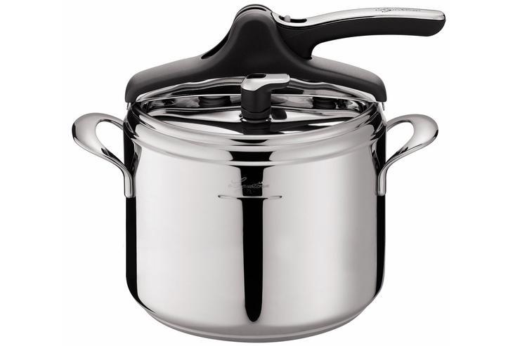 A pressure cooker.