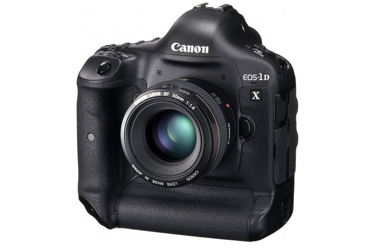 The new full frame, 18-megapixel Canon EOS-1D X will be available in March 2012.