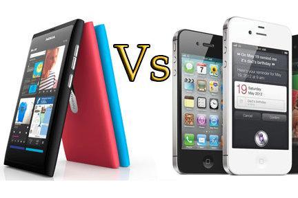 Nokia N9 vs  Apple iPhone 4S: Smartphone comparison - PC World Australia