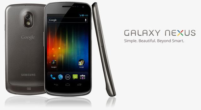 The Galaxy Nexus will be the first Android phone to ship with Android 4.0 Ice Cream Sandwich