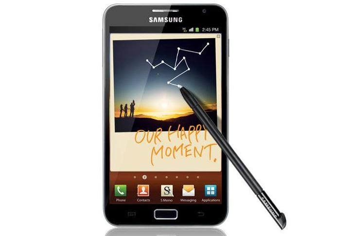 Samsung's Galaxy Note Android phone: now available online