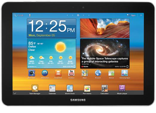 Samsung's Galaxy Tab 10.1: now available through Vodafone