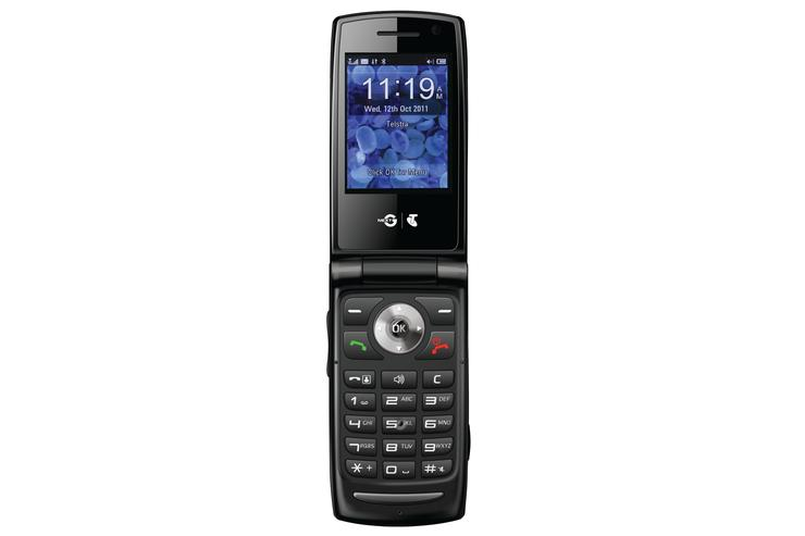 Telstra's EasyTouch Discovery 3 mobile phone
