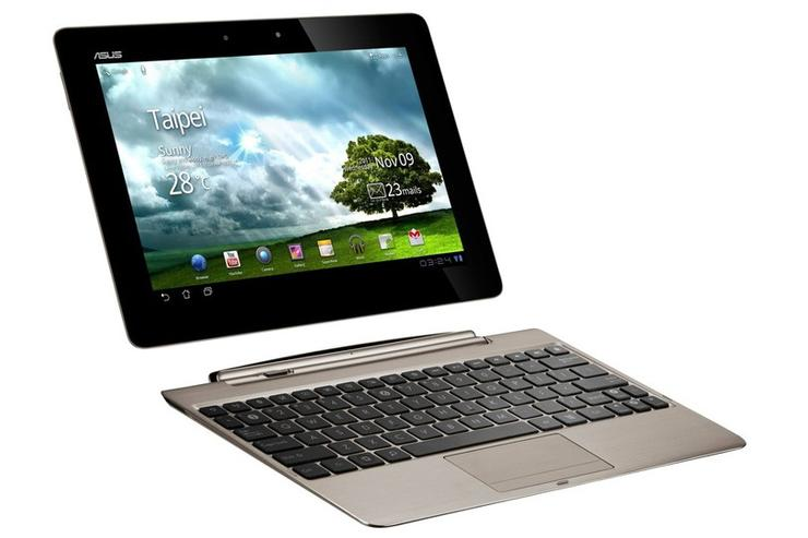 The ASUS Eee Pad Transformer Prime Android tablet: now available in Australia