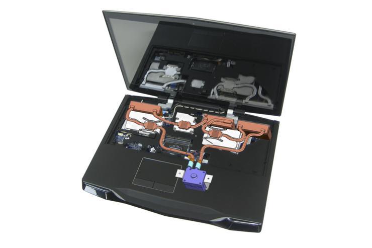 Asetek's laptop liquid cooling system