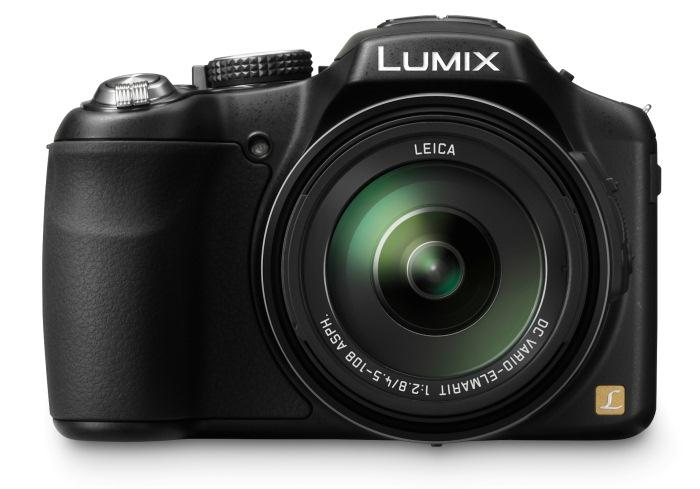 Panasonic's new Lumix DMC-FZ200 digital camera: a super-zoom with a constant f/2.8 lens.