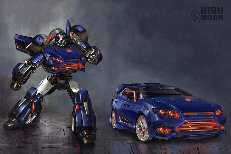 australians design falcatron for transformers fall of cybertron