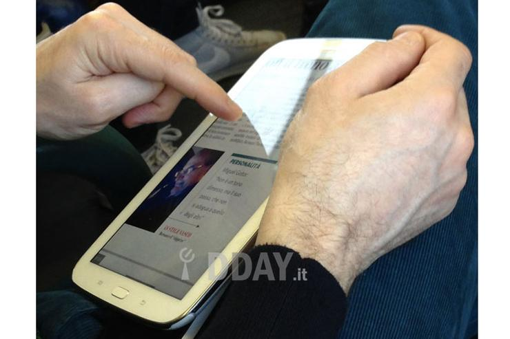 Is this the Samsung Galaxy Note 8? (Image credit: DDay.it)