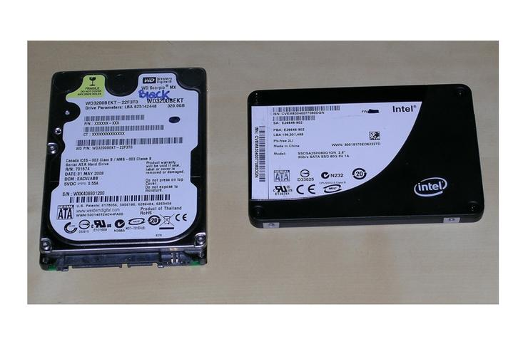 Intel's X25-M Solid State Disk Drive