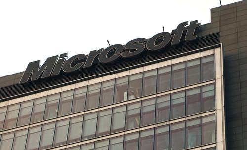 Microsoft offices in Beijing.