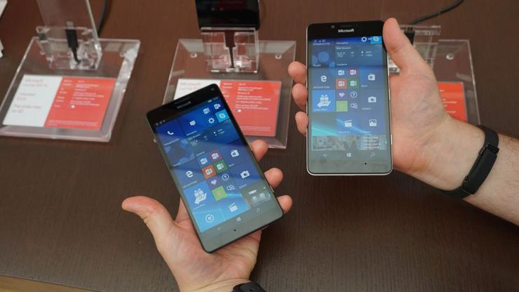 The Microsoft Lumia 950 and 950XL