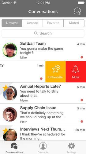 NetSfere enterprise messaging app