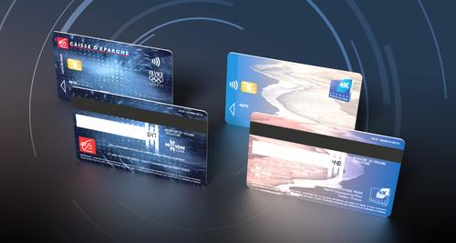 Oberthur Technologies has developed a screen that can be put on the back of a bank card to improve security.