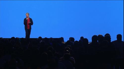 Larry Page makes a surprise appearance at Google I/O May 15